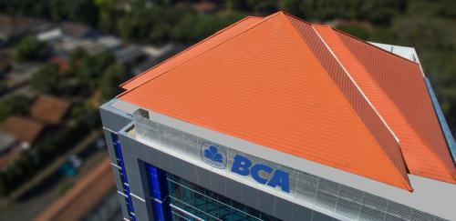 Genteng Victoria Multiline Bank BCA,Dago-Bandung